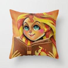 Sunset Shimmer :: Dear Princess Twilight Throw Pillow