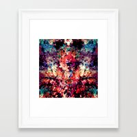Sugoisounds - Neon Beats Framed Art Print