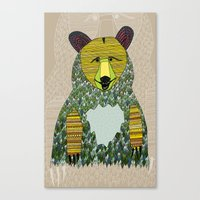 Hello, Bear Canvas Print