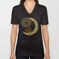 Moon Travel Unisex V-Neck