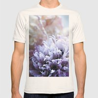 Flower Funeral Mens Fitted Tee Natural SMALL