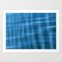 Water Pattern #2 Art Print