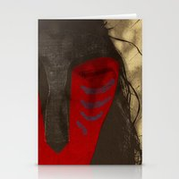 FOREST SPIRIT MASK Stationery Cards