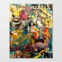 R.E.B.E.L.S. Canvas Print
