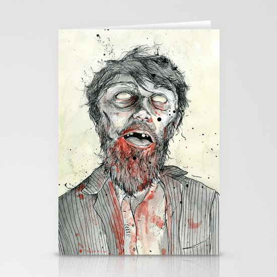Zombie! Stationery Card