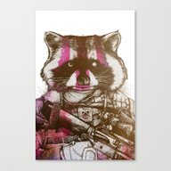 Badass Pets : The Royal … Canvas Print