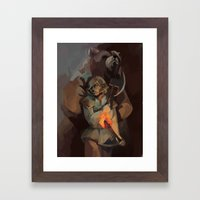 Hart and Zachary Framed Art Print