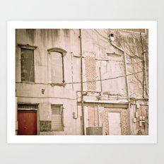 Behind the Scenes II Art Print