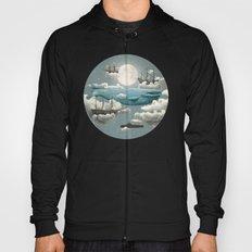 Ocean Meets Sky - colour option Hoody