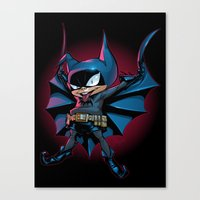 Bat-Mite Canvas Print