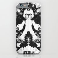 Megaman Geek Ink Blot Test iPhone 6 Slim Case