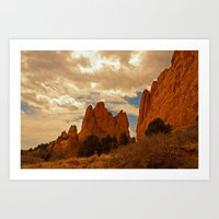 In Gods' Heaven Art Print