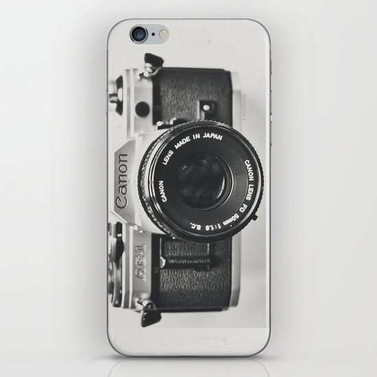 Vintage, 1970's iPhoneographer iPhone & iPod Skin