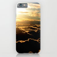 iPhone & iPod Case featuring Sunset over the Atlantic Ocean by kreatox