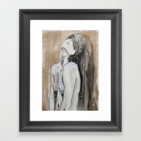 Ages Pass And Still Ther… Framed Art Print