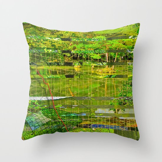 Landscape of My Heart (segment 3) Throw Pillow