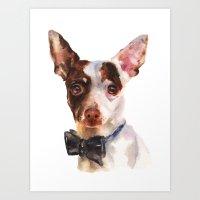 Chihuahua, Dog Painting,… Art Print