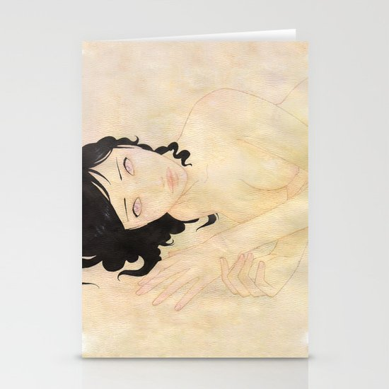 Nude Stationery Card