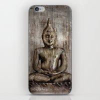 Klassischer Budda iPhone & iPod Skin
