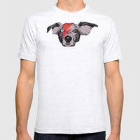 THE BUDDIE x DAVID BOWIE Mens Fitted Tee Ash Grey SMALL