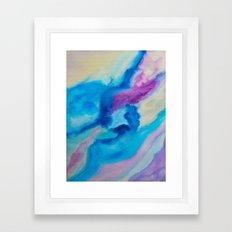Color explosion 03 Framed Art Print