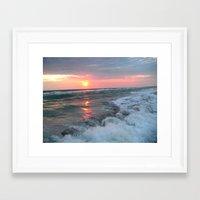 A day in Long Boat Key Framed Art Print