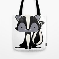 Sadie the Skunk Tote Bag