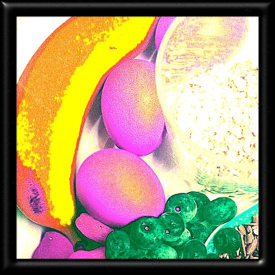Passionate Fruits Art Print
