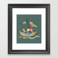Romance {You And Me In M… Framed Art Print