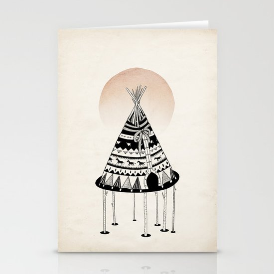 Fancy Living Stationery Card