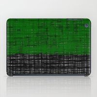 platno (green) iPad Case