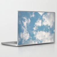 clouds Laptop & iPad Skins featuring Clouds by Rebekah Joan