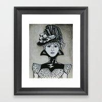 Chastity Framed Art Print