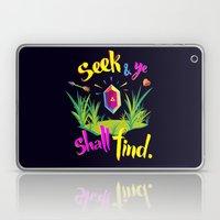 Legend of Zelda Seek and Ye Shall Find Laptop & iPad Skin
