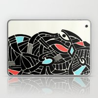 - face for the storm - Laptop & iPad Skin