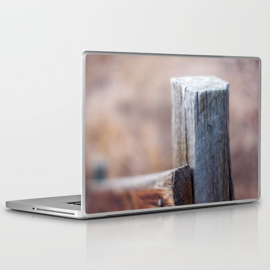 Fence Post II Laptop & iPad Skin