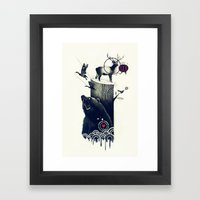 Hunting Season Framed Art Print