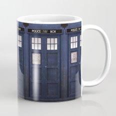 Tardis front Mug