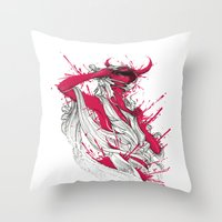 Somebody That I Used To … Throw Pillow