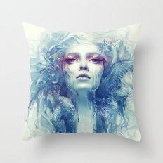 Oil Throw Pillow