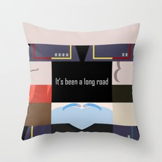 It's Been A Long Road - … Throw Pillow