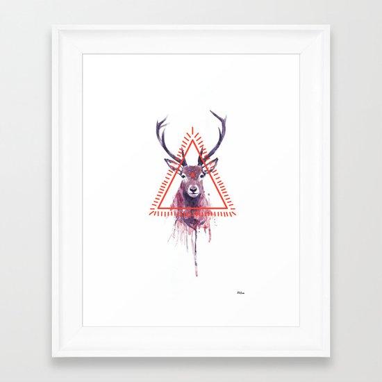 Ahawi Framed Art Print