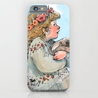 iPhone & iPod Case featuring Little Rabbit by Julia Marshall