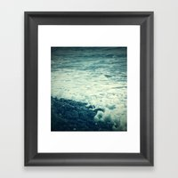 The Sea V. Framed Art Print