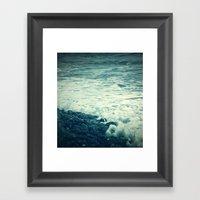 The Sea V. Framed Art Print