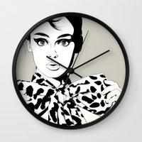 Uh! Wall Clock