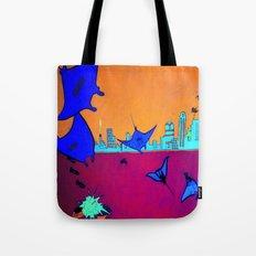 Manta Madness Tote Bag