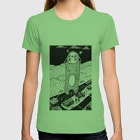 Revolt Womens Fitted Tee Grass SMALL