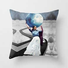 Obligatory Frida - PAINTING Throw Pillow