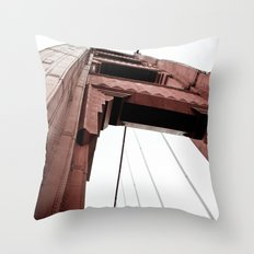 High Beams Throw Pillow